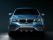 Yeni BMW X4 Concept İLK Resmi Fotoğraflar