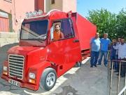Van Tuşbalı İsmail Mescioğlu Murat 131 Marka Arabadan Tır Yaptı