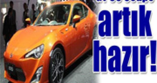 2012 Toyota GT 86 Coupe,Sport Modeli Yakında Yollarda Olacak