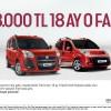 Fiat Ticari,Fiat Araçlarda Kampanya,Fiat Şubat Kampanyası,Fiat 18.000 TL,Fiat Ticari 18 Ay Sıfır Faiz