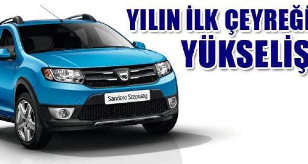 Dacia,2013,yılının,ilk,çeyreğinde,yükselişte!